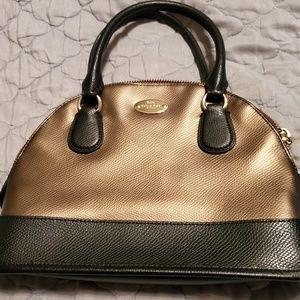 Coach Half Moon Hand Bag